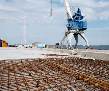Muuga sadama kai nr 13 kordoniosa konstruktsioonielementide rekonstrueerimistööd