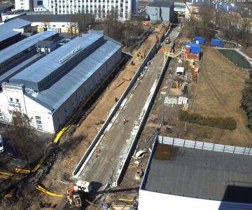 Tallinna Lennujaama trammiliini projekteerimine ja ehitamine Peterburi tee 2 ja Keevise tn vahelisel ajal