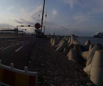 Tallinna Vanasadama Pikksilma tn promenaadi ja kaldakindlustuse ehitustööd