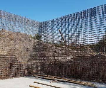 Paldiski kalajahutehase reoveepuhasti laienduse betoonitööd, Paldiski